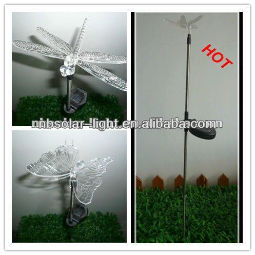 outdoor garden hummingbird solar LED light