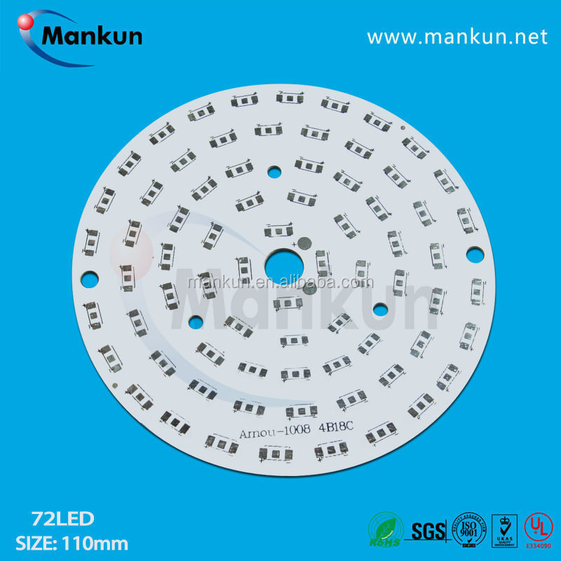 single aluminum pcb strip flexible pcb for led light