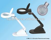 magnifying work lamp/glass magnifier lamp loupe/magnifying lamp white
