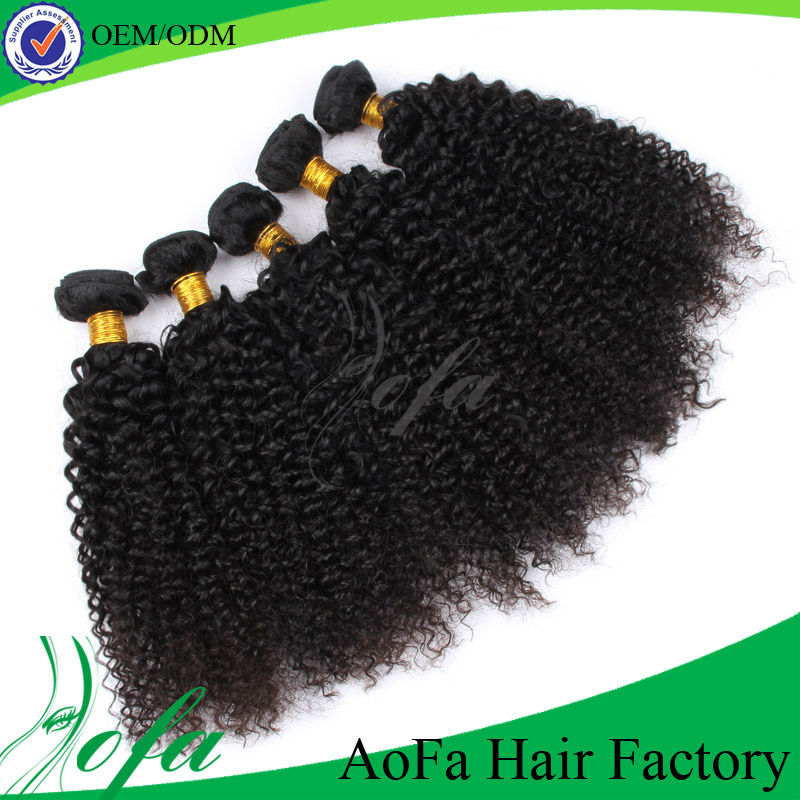 Hot selling 100% 5A natural virgin brazilian hair spiral curl hair extensions