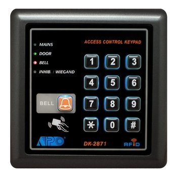 dk 2871 2 output relay digital access control keypad buy. Black Bedroom Furniture Sets. Home Design Ideas