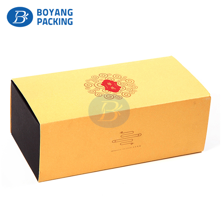 Decorative Handmade Customized paper Packaging refined chinese Tea gift Box