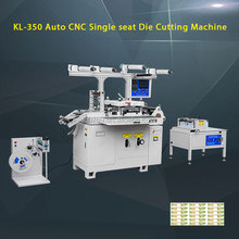 Protective film and adhesive tape die cutting machine