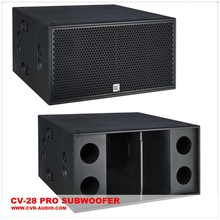 18 subwoofer sub-bass dj pro audio subwoofer speaker empty cabinet