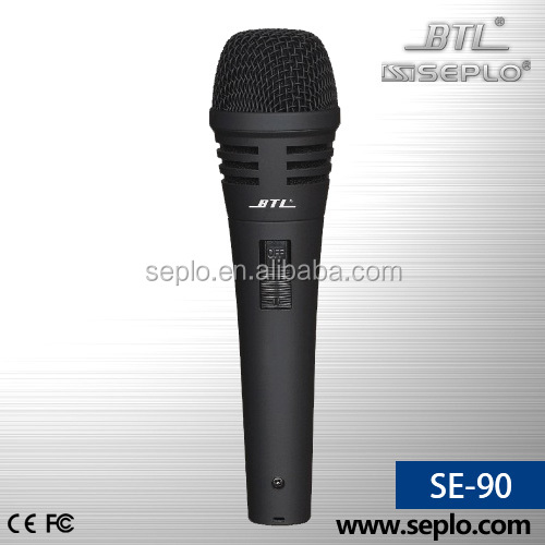 enping professional dynamic wired microphone SE-90