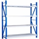 Warehouse electronic component storage rack