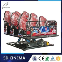 Fashionable 8D/9D/Xd Cinema 3D Glasses 6/9/12 Seats Theater 12D Simulator Equipment
