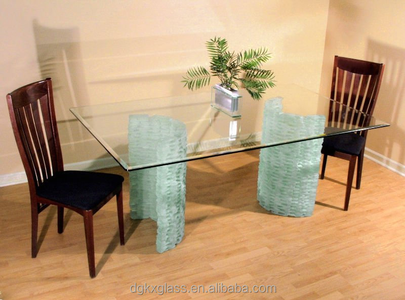 tempered family dining table glass top design m2 price