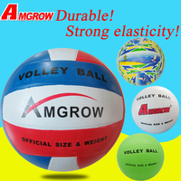 wholesale China factory official size and weight 10 panels volleyball