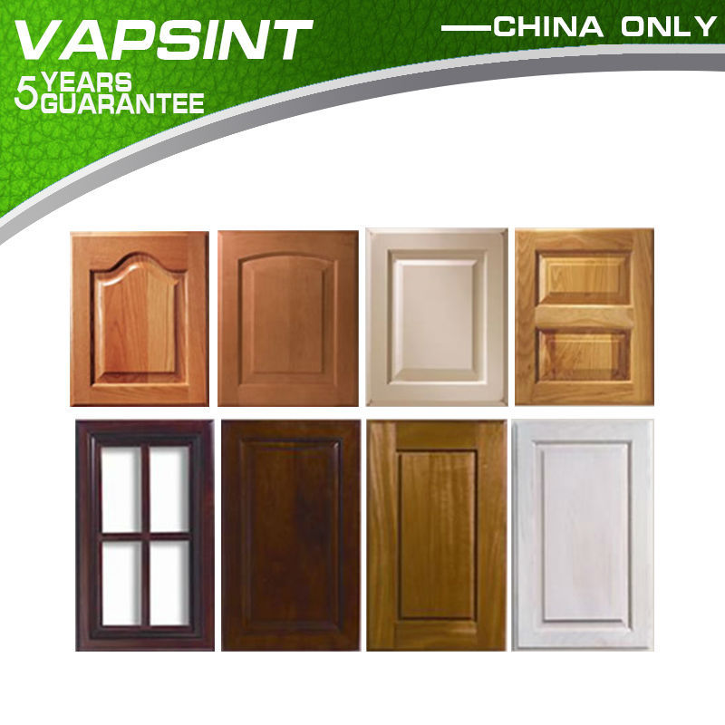 Foshan factory wooden kitchen cabinet door for kitchen furniture