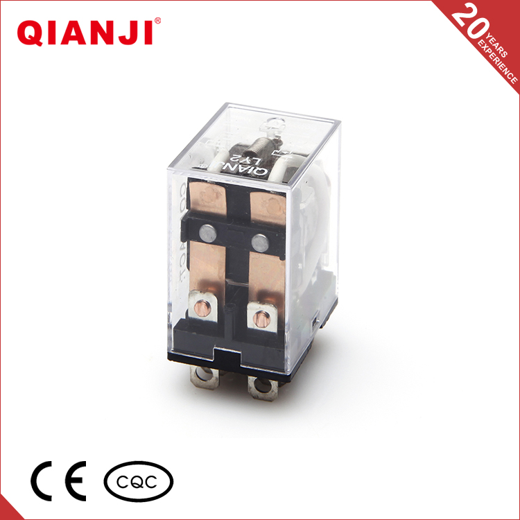 QIANJI Power Relay LY2 12VDC 2 Pole Industrial General Purpose Relay