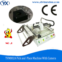 TVM802A LED Light Assembly Line BGA Machine SMD Components PCB Soldering Machine