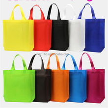 China printing die cut handbag for business advertising non woven shoulder bag
