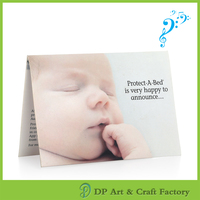 High quality music greeting card with custom voice recording