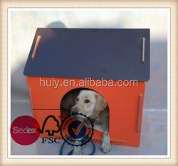 Custom wooden assembling dog house China wholesale