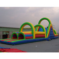 China wholesale customized party theme inflatable obstacle course