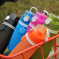 2017 New Arrived Sport Bottle Silicone Copper Disposable Water Bottles