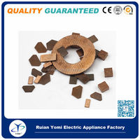 High Quality Silver Bimetal sheet Electrical Contact for Magnetic Contactor