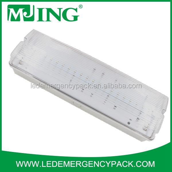 Rechargeable led emergency light circuits/SAA 4w led emergency exit sign
