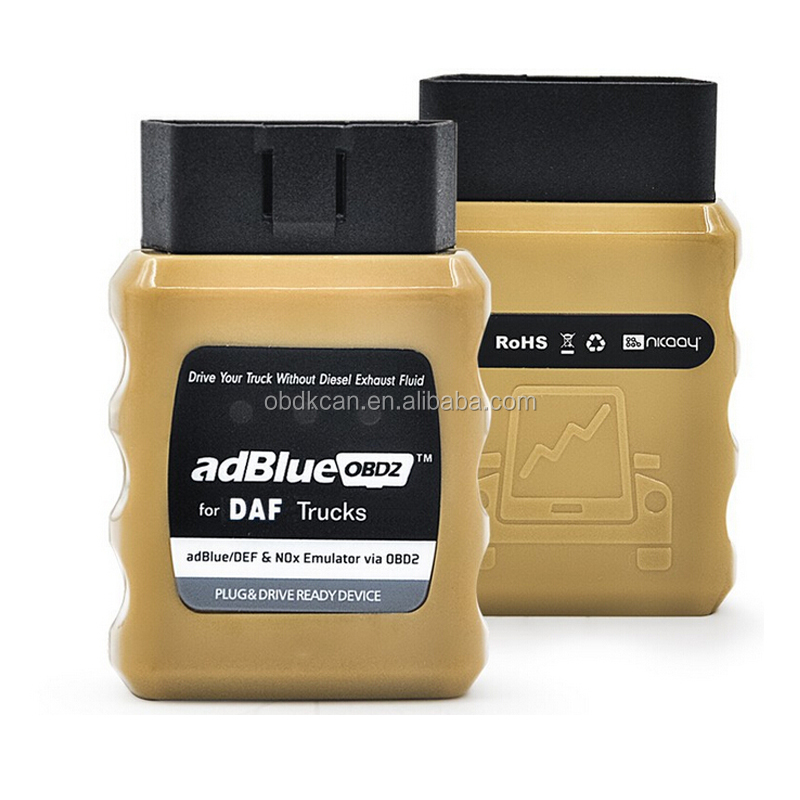 2017 Latest version Adblue OBD2 Emulator for DAF Truck OBD2 and NOx sensor Truck Sensor