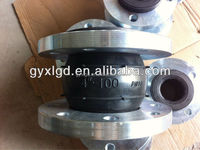 OEM JXF Dirt filtration Rubber Expansion Joints For Pipe Fitting