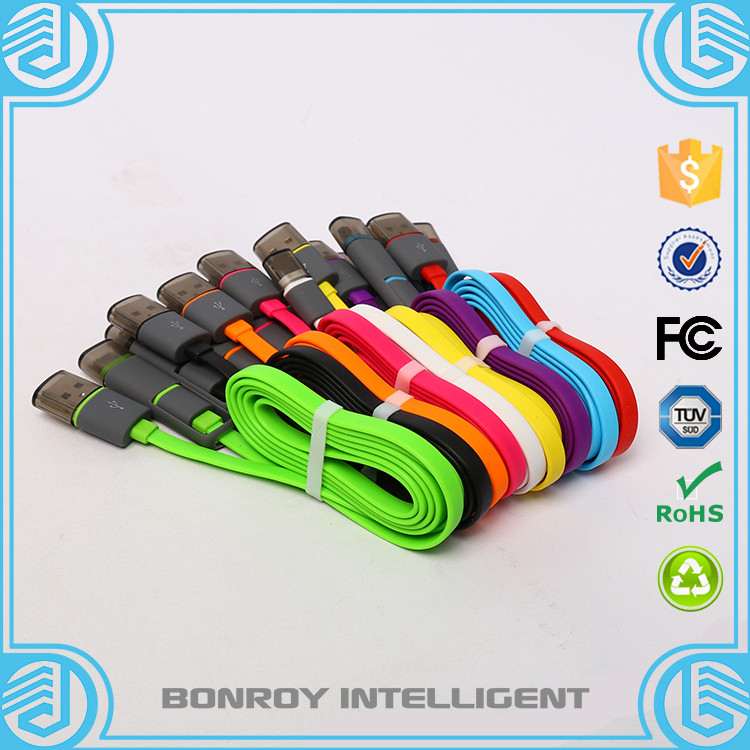 factory 2 in 1 Fast Charger <strong>date</strong> transform high speed usb cable