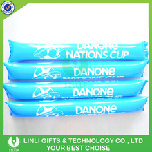 Comply EN71 Promotional Logo Inflatable Clappers, Inflatable Balloon Clappers, Inflatable Clappers Stick