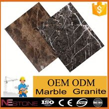 Multiple shapes polished water-jet triangle 20x20 marble tile for warehouse flooring