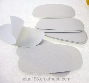 customized refill pads foot file removable pads