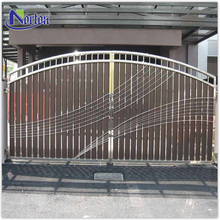 Modern cheap wrought iron gates design for sale NTIG-051Y