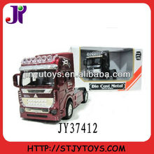 1:50 scale diecast metal truck trailer model toy