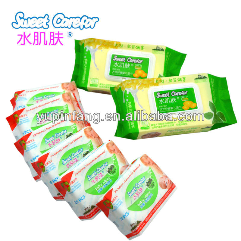 Nonwoven tender baby wipes.Wet Napkins.Baby Wet wipes