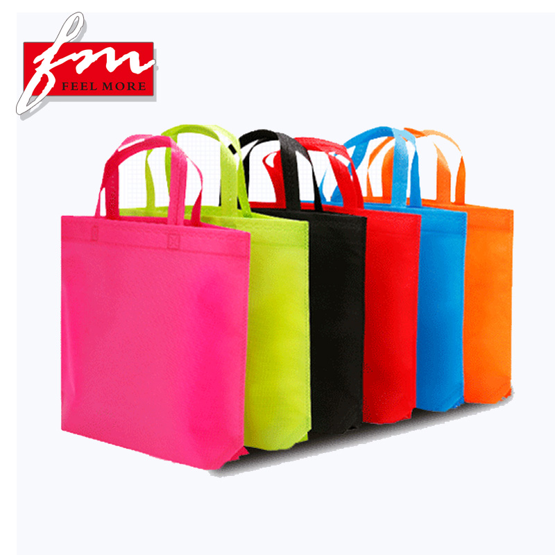 Fuman Recycle Non Woven Shopping Bag, Cheap Reusable Shopping Bags Wholesale, Customized Printed Logo Shopping Bag