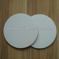 White Grease Proof Corrugated Cake Circle