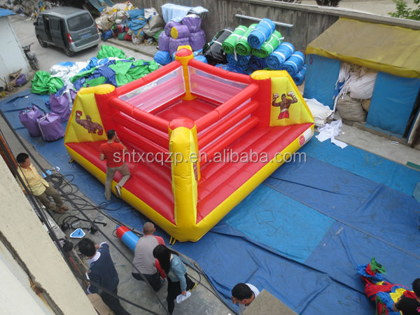 commercial use cheap inflatable wrestling ring/ inflatable boxing ring