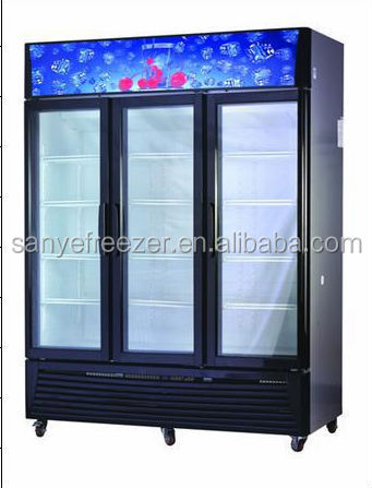 Sanye high quality best sale quick freezing wine cooler fridge with CE certification