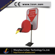 The best selling wireless queue management system ticket dispenser machine