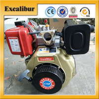 Customized 7.0HP Single Cylinder Diesel Engine for sales