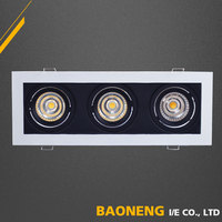 New Design Dimmable Led Surface Mount Recessed Ceiling Light For Showroom