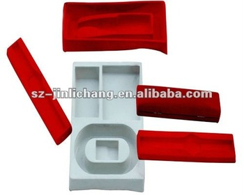 plastic flocking blister tray