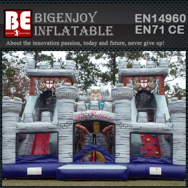 Royal Palace giant inflatable park slide for chidren