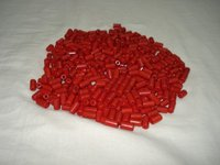 Synthetic Red Coral Tubes