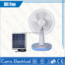 12 inch dc slolar table fan specifications