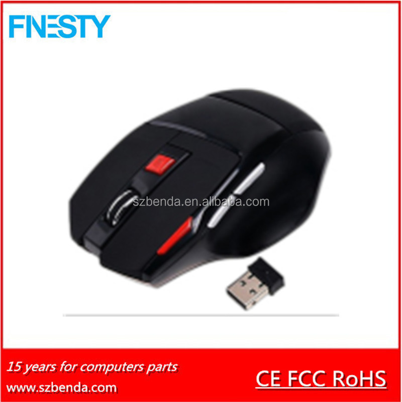 2017 OEM Factories Wireless Gaming Laptop Mouse Types
