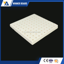 Soundproof Acoustic Suspended Fiber Glass Wool Ceiling Board/ Acoustic Panel Tiles