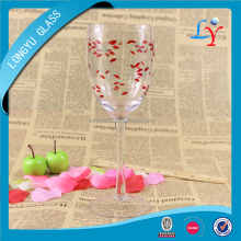 380ml hand paint gift wine glass italian glassware wholesale