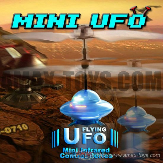 rfs-0710 flying spinning toys Mini infrared control series flying UFO