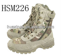 out side zipper easy on and off Middle East hot selling coyote army desert boots for men