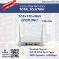 EPON ACCESS 1GE+1FE+WIFI ONU with BOSA PON Port Type Cost Effective