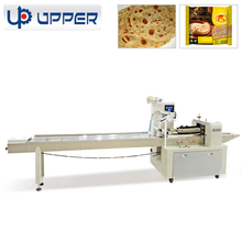 Horizontal flow packaging machines for noodle